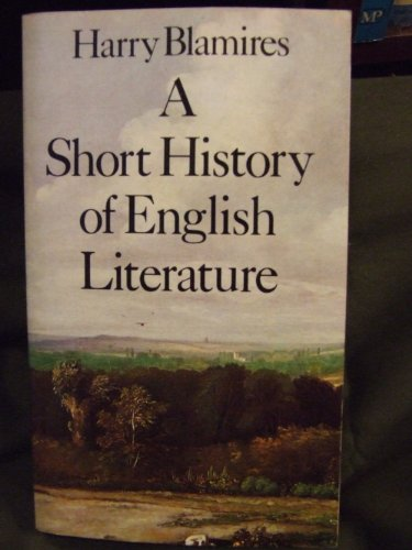 9780416241204: Short History of English Literature