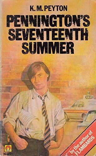 9780416247107: Penningtons 17th Summer Teens
