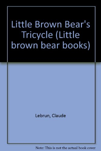 9780416249200: Little Brown Bear's Tricycle