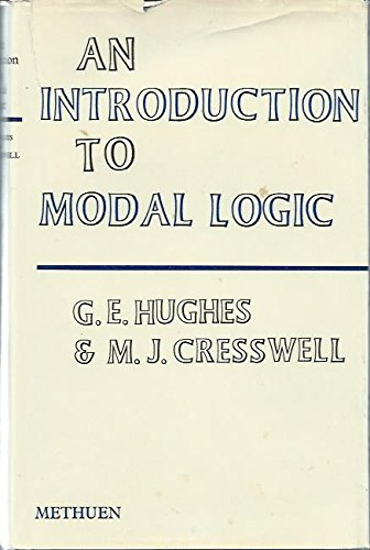 9780416294705: Introduction to Modal Logic