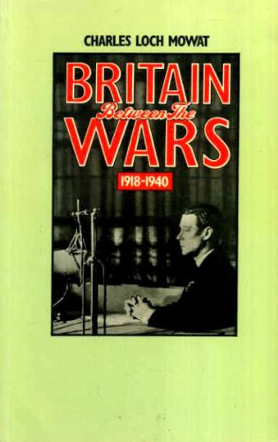 9780416295108: Britain Between the Wars, 1918-40 (University Paperbacks)