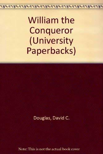 9780416299809: William The Conqueror (University Paperbacks)