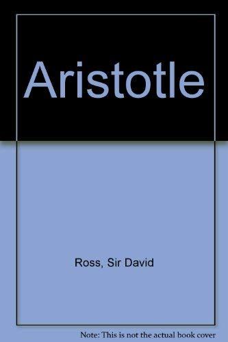 9780416303100: Aristotle