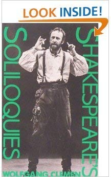Shakespeare's Soliloquies: Clemen, Wolfgang