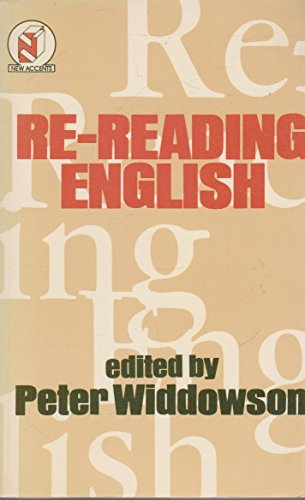 Re-Reading English (University Paperback) (0416311504) by Peter Widdowson