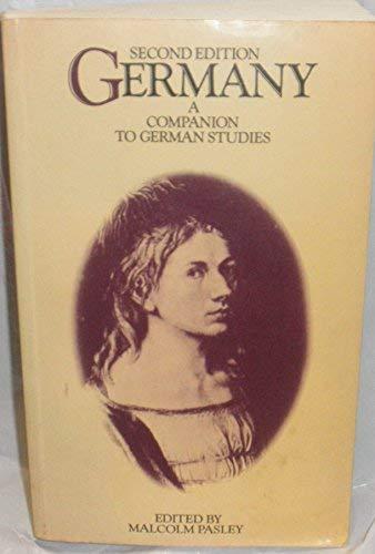 9780416336603: Germany: A Companion to German Studies (University Paperbacks)