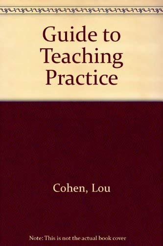 9780416340907: Guide to Teaching Practice