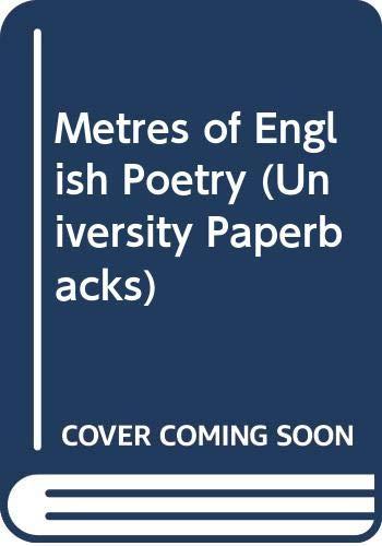 Metres of English Poetry: Hamer, Enid