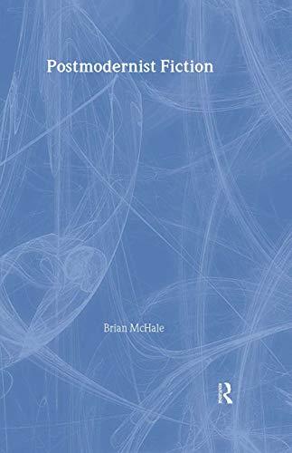 9780416363906: Postmodernist Fiction
