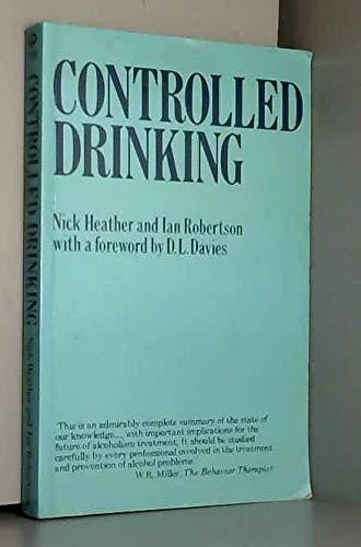 9780416364606: Controlled Drinking (University Paperbacks)