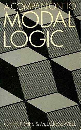 9780416375107: A Companion to Modal Logic