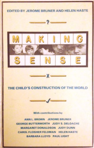 9780416382402: Making Sense: Child's Construction of the World