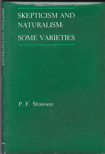 9780416390704: Scepticism and Naturalism: Some Varieties