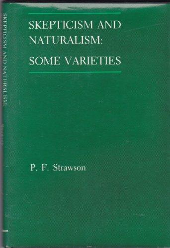 9780416390704: Scepticism and Naturalism: Some Varieties