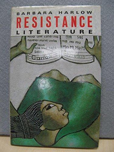 9780416399509: Resistance Literature