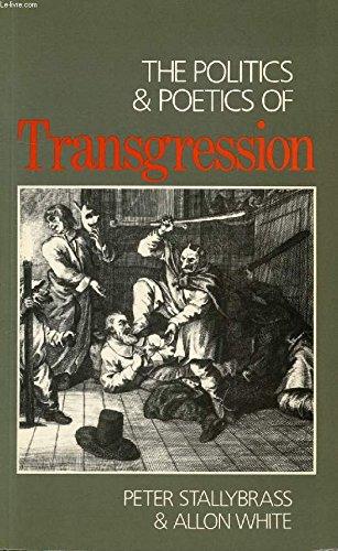 9780416415803: Politics and Poetics of Transgression