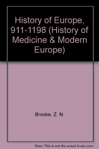 A History of Europe from 911 to: Z.D. Ansari and