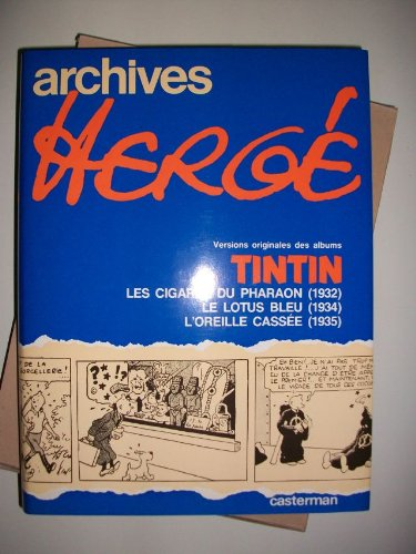 9780416453003: Archives Herge: Tome 3 (French Edition)