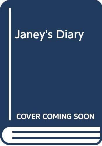 9780416461305: Janey's Diary