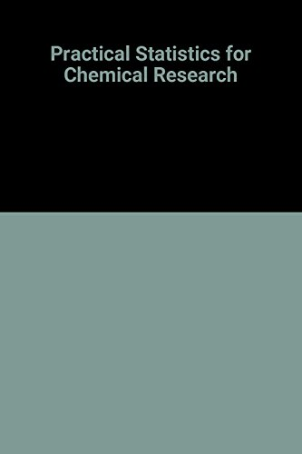 9780416466706: Practical Statistics for Chemical Research