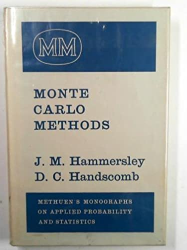9780416523409: MONTE CARLO METHODS.