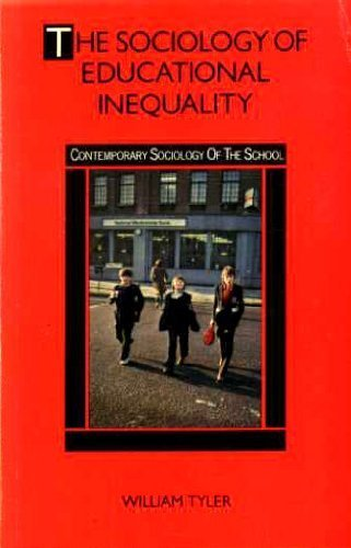 9780416558500: The Sociology of Educational Inequality (Contemporary sociology of the school)