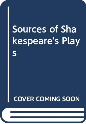 9780416562705: Sources of Shakespeare's Plays