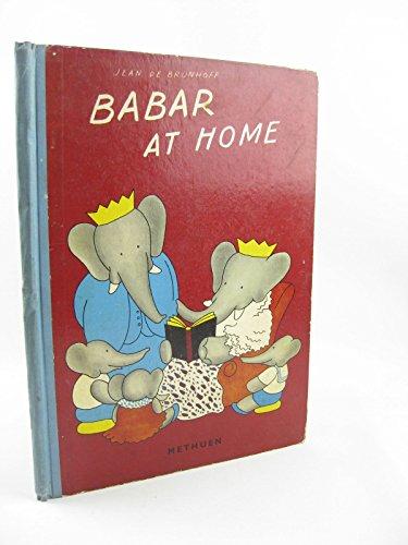 9780416573701: Babar at Home