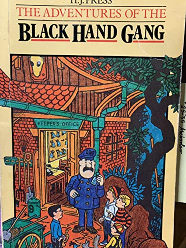 9780416581607: Adventures of the Black Hand Gang
