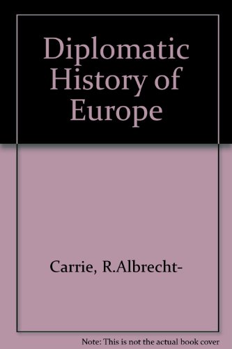 9780416611908: Diplomatic History of Europe