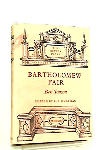 9780416612806: Bartholomew Fair (The Revels plays)