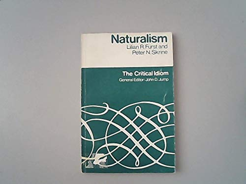 9780416655001: Naturalism (Critical Idiom)