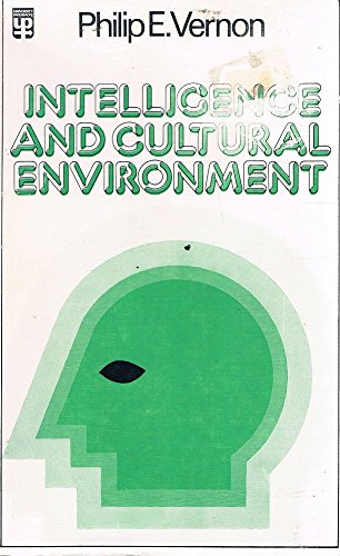 9780416658002: Intelligence and Cultural Environment