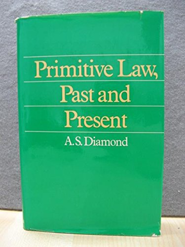 9780416660807: Primitive Law, Past and Present