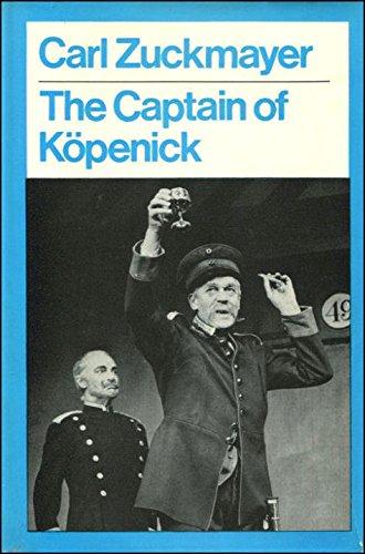 9780416670905: Captain of Kopenick (Modern Plays)