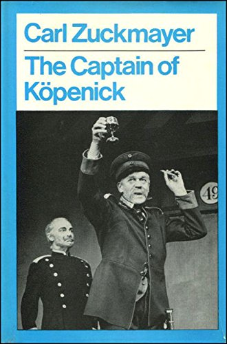 9780416670905: Captain of Kopenick (Modern Plays)