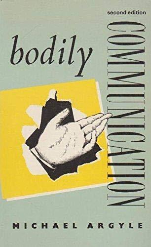 9780416674507: Bodily Communication