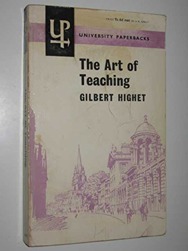 9780416680706: ART OF TEACHING (UNIVERSITY PAPERBACKS)