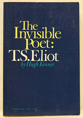 9780416688603: The Invisible Poet: T.S. Eliot (University Paperbacks)