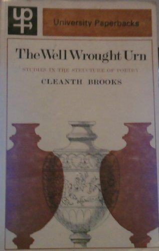 9780416692105: Well Wrought Urn (University Paperbacks)