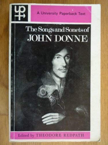 9780416696608: The Songs and Sonnets (University Paperbacks)