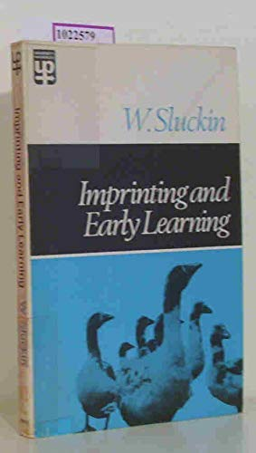 9780416701500: Imprinting and Early Learning (University Paperbacks)