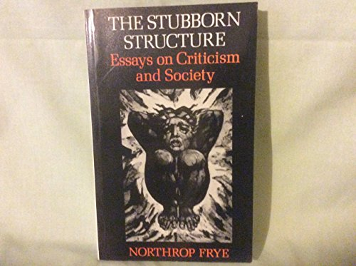 9780416703108: Stubborn Structure: Essays on Criticism and Society (University Paperbacks)