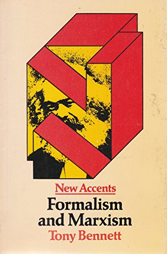 9780416708806: FORMALISM & MARXISM PB (New Accents Series)