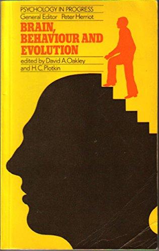 9780416712704: Brain, Behaviour and Evolution
