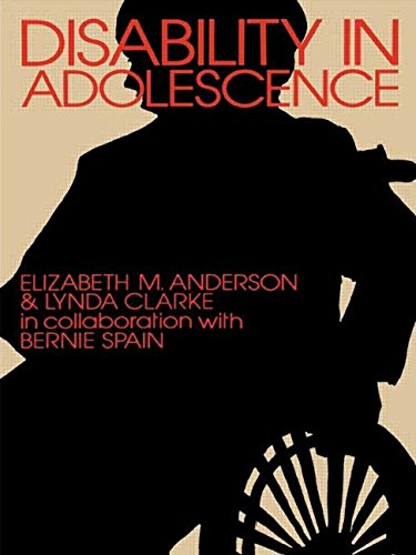 Disability in Adolescence: Psychological and Social Adjustment: Clarke, Lynda, Anderson,