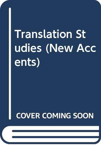 9780416728804: Translation Studies