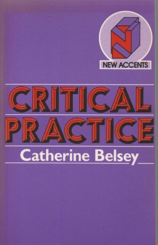 9780416729405: Critical Practice (New Accents)