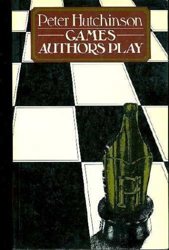 9780416730708: Games Authors Play