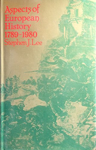 9780416731705: Aspects of European History: 1789-1980